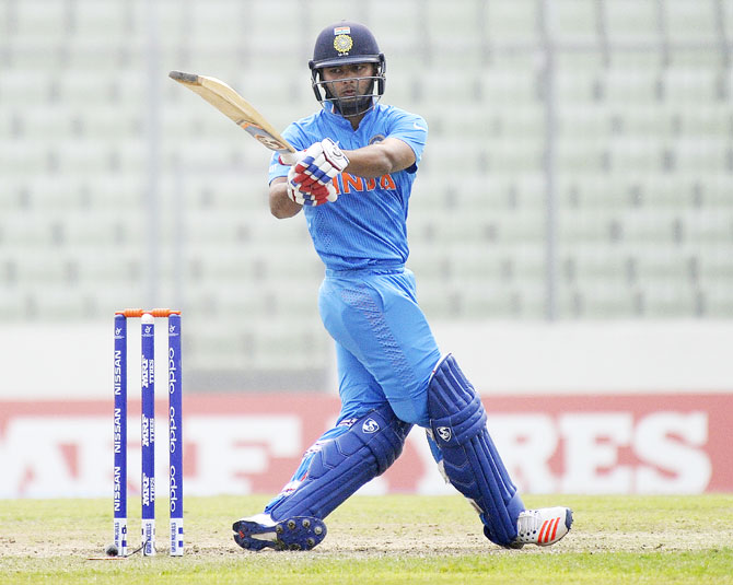 Rediff Cricket - Indian cricket - In-form Pant dazzles as Rahane-led India 'A' thrash England