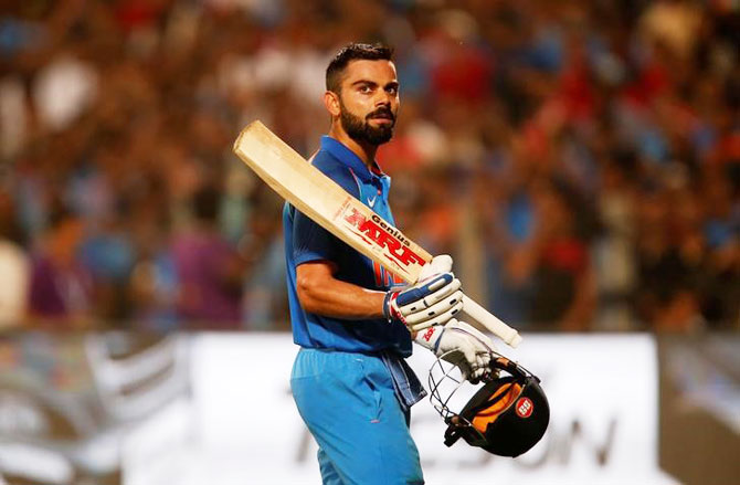 Rediff Cricket - Indian cricket - Master huntsman 'Kohli is from another planet'