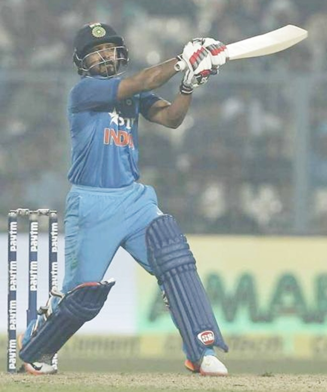 Rediff Cricket - Indian cricket - Numbers Game: The rise and rise of Kedar Jadhav