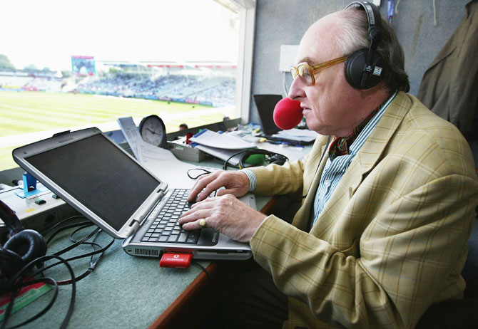 'I suppose I enjoy commentating on the game more than writing on it'