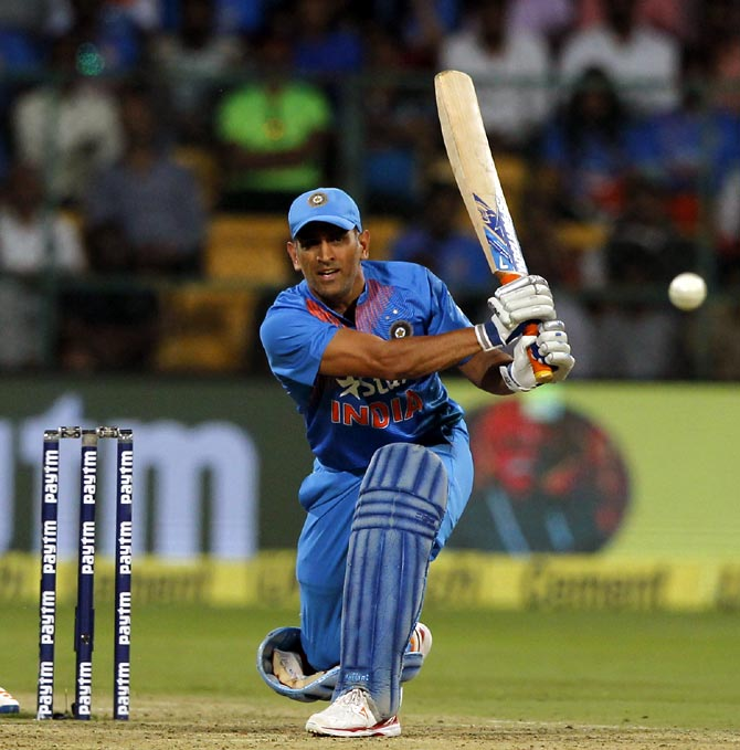 Rediff Cricket - Indian cricket - In Numbers: Dhoni's waning powers as a finisher!