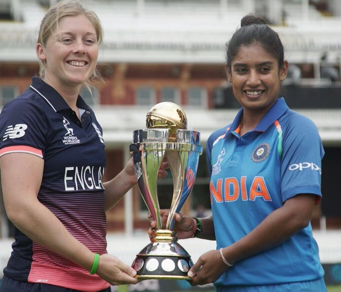 Rediff Sports - Cricket, Indian hockey, Tennis, Football, Chess, Golf - Will Mithali 'Raj' at Lords?