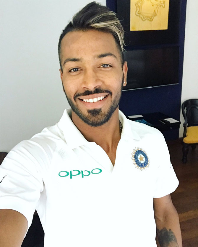 Rediff Sports - Cricket, Indian hockey, Tennis, Football, Chess, Golf - With team balance in mind, Pandya likely to get nod for Galle Test
