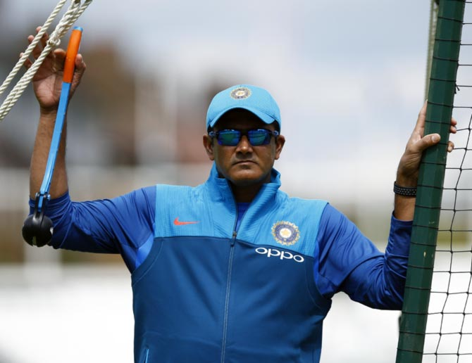 Rediff Cricket - Indian cricket - Kumble gets his dues post acrimonious exit