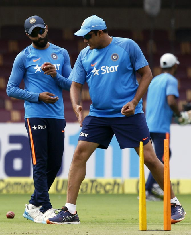 Rediff Cricket - Indian cricket - In Numbers: How India fared under Kumble