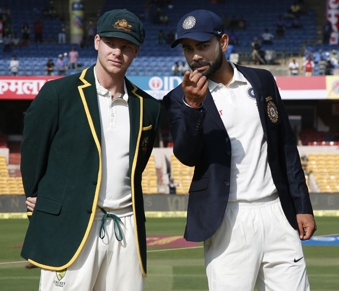 Rediff Cricket - Indian cricket - Australian cricketers are no longer friends, says Kohli