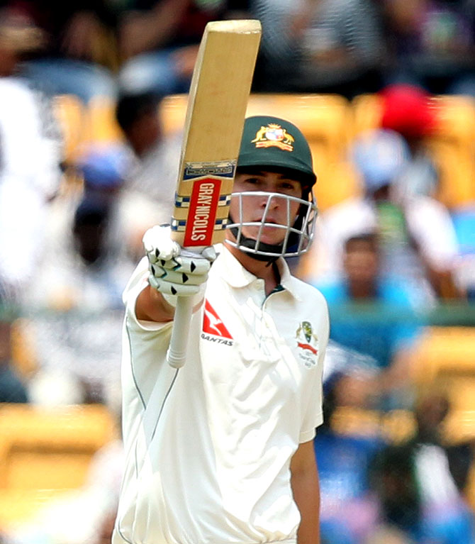 Rediff Cricket - Indian cricket - 2nd Test: Australia take lead on day of see-saw battle