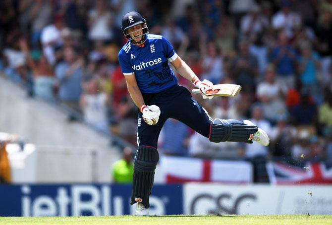 Rediff Cricket - Indian cricket - Hales, Root tons lead England to series sweep over Windies