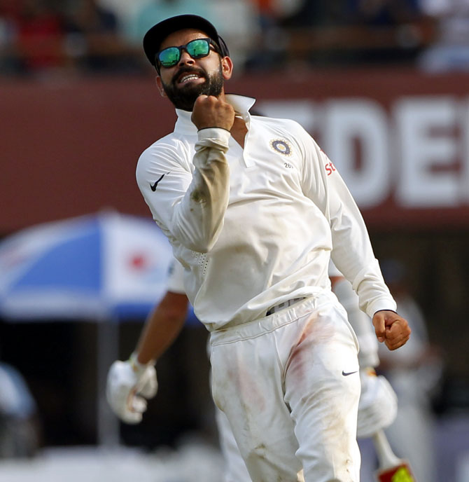 Rediff Cricket - Indian cricket - Steve Waugh: Kohli has a bit of Ricky and myself in his captaincy