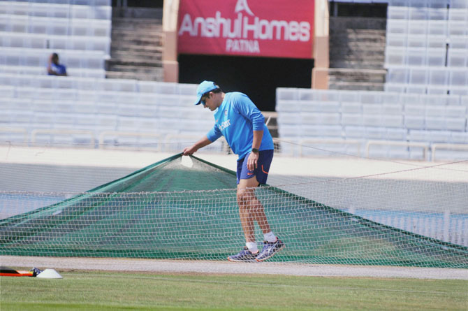 Rediff Cricket - Indian cricket - Ranchi Test: Will pitch play a role in series decider?