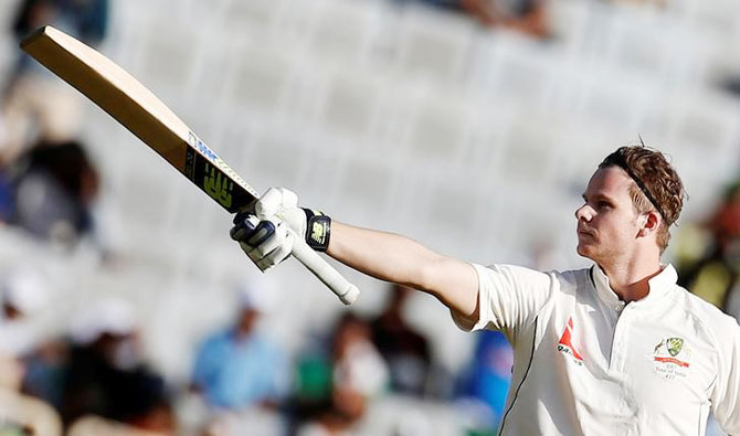 Rediff Cricket - Indian cricket - Ranchi Test: Smith ton guides Australia to good total on Day 1
