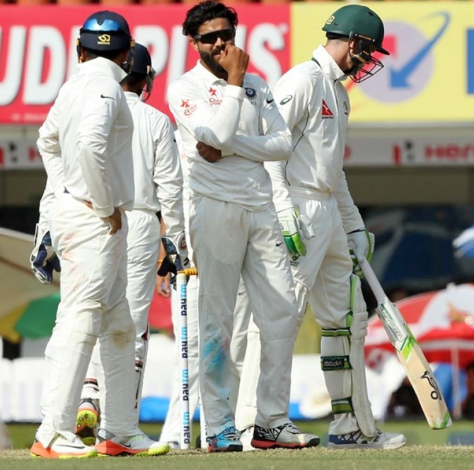 Rediff Sports - Cricket, Indian hockey, Tennis, Football, Chess, Golf - Stats: INTERESTING numbers from Ranchi Test, Day 5