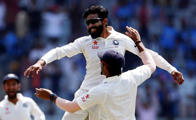 After a stupendous bowling performance in the 3rd Test in Ranchi, Ravindra Jadeja is the new top-ranked Test bowler