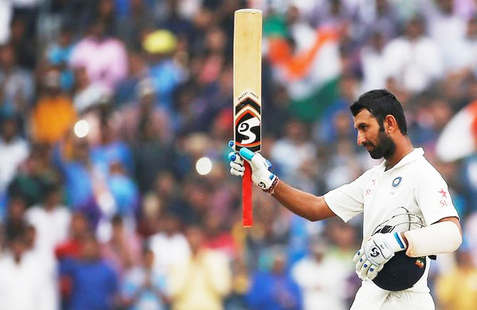 Rediff Cricket - Indian cricket - Pujara on his Zen-like calm and the importance of recovery