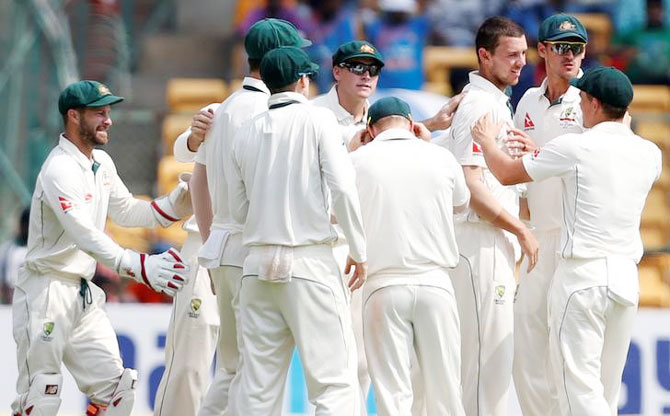 Rediff Cricket - Indian cricket - 'Winning in India has been holy grail of Aus cricket'
