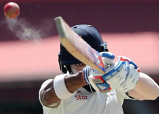 Rediff Cricket - Indian cricket - Here's what KL Rahul said after his baffling dismissal