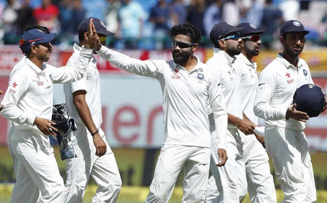 Rediff Cricket - Indian cricket - Bowlers put India on cusp of series win