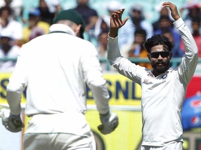 Rediff Sports - Cricket, Indian hockey, Tennis, Football, Chess, Golf - Stats Pack: All-round Ravindra Jadeja steals show