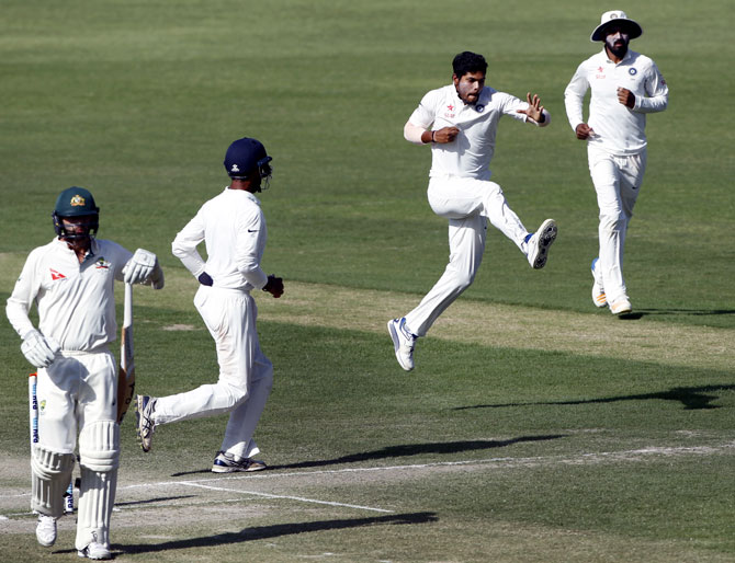 Rediff Cricket - Indian cricket - Here's what did the trick for India on Day 3...