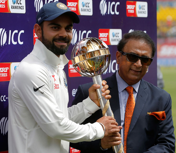 Rediff Cricket - Indian cricket - India retains ICC Test Championship mace