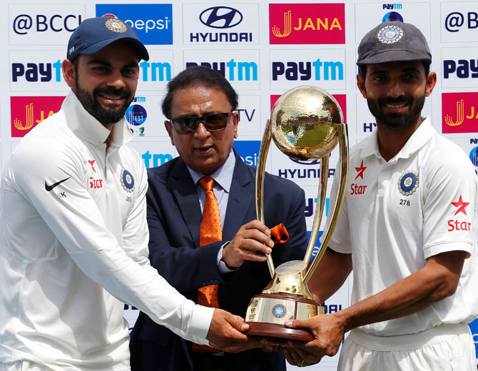 Rediff Cricket - Indian cricket - 'It's been unbelievable. This is our best series win so far'
