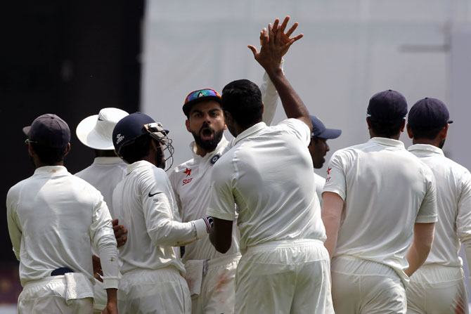 Rediff Cricket - Indian cricket - Report Card: Jadeja, Rahul, Pujara, Saha shine brightest