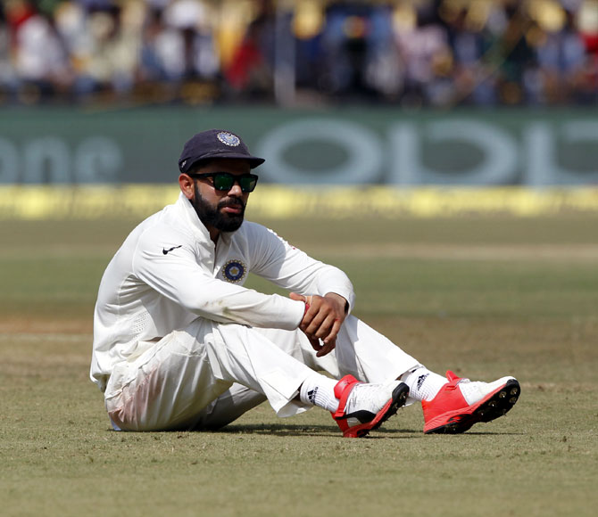 Rediff Cricket - Indian cricket - 'Virat, this great game is not just about winning and losing'