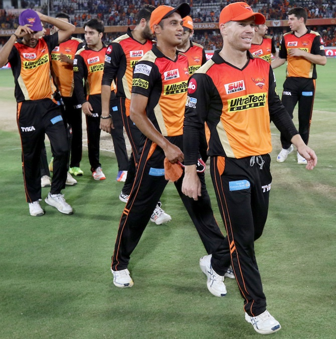 The Surisers Hyderabad had beaten KKR in the knock-outs last season