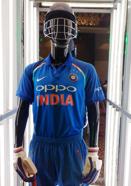 watch 25659 8ddce Check out Team India's new jersey for Champions Trophy ...