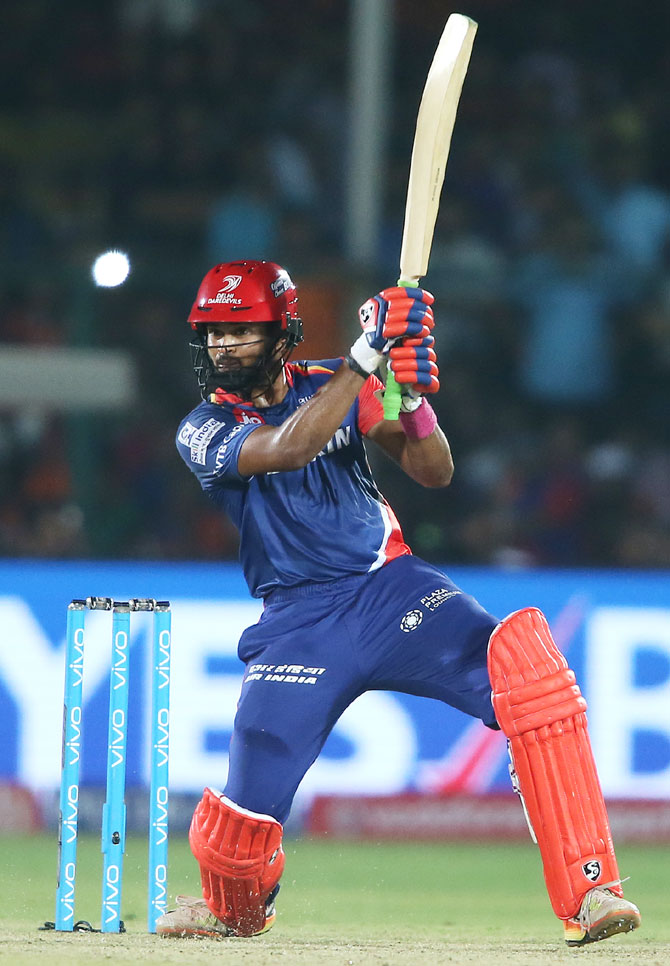 Rediff Sports - Cricket, Indian hockey, Tennis, Football, Chess, Golf - IPL PHOTOS: Iyer's 96 seals thrilling win for Delhi Daredevils