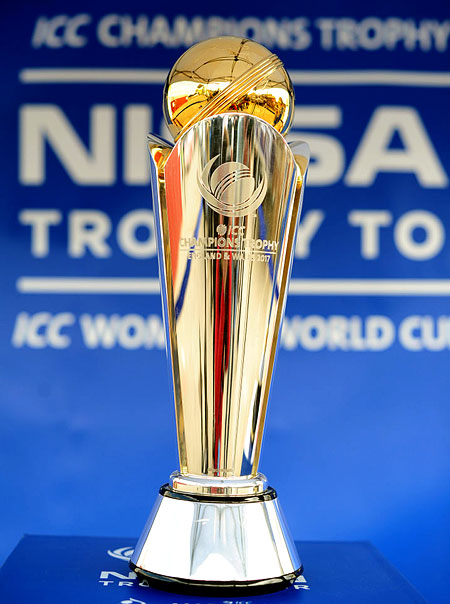 Rediff Cricket - Indian cricket - Check out ICC Champions Trophy schedule