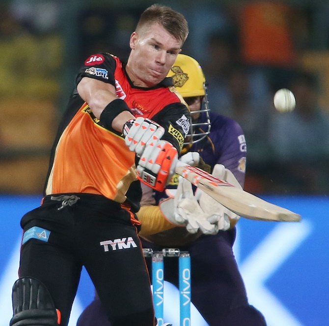 Rediff Cricket - Indian cricket - Warner still the Most Valuable Player in IPL 10