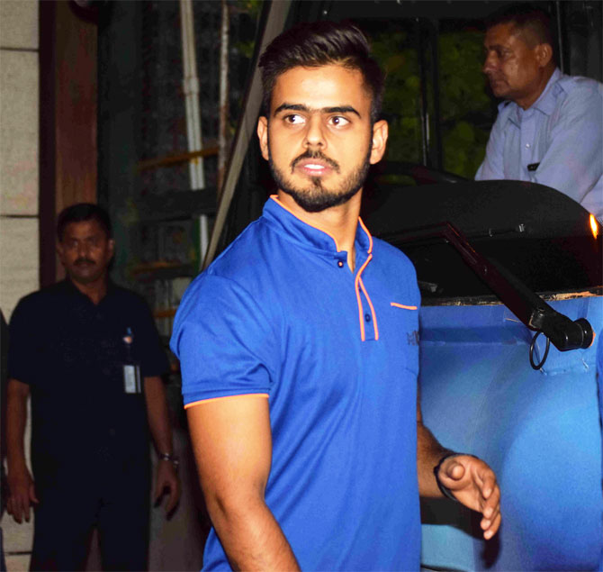One of Mumbai Indians' young sensations this season was also at the party