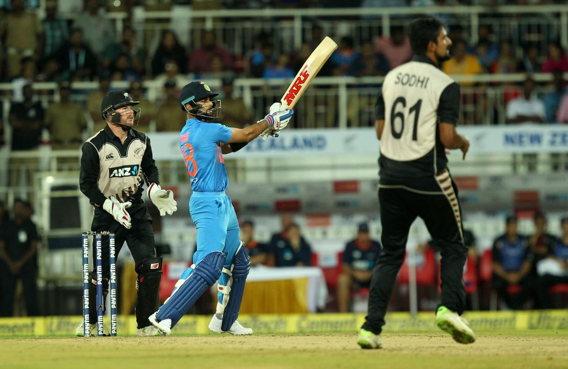 Rediff Cricket - Indian cricket - 'Nervous' Team India script scintillating 6-run victory
