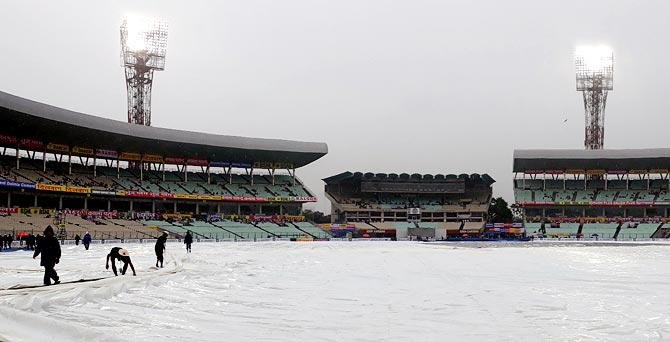 Rediff Cricket - Indian cricket - 'If the weather clears, this Test can definitely get a result'