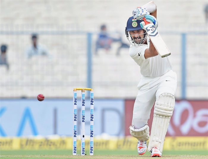 Chetesshwar Pujara has emulated ML Jaisimha and Ravi Shastri on achieving the feat