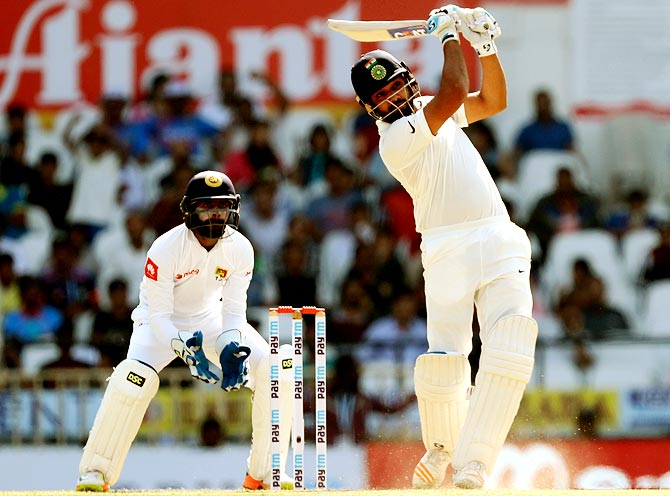 Rohit Sharma hits out