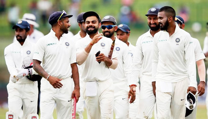 Team India will be chasing their 9th consecutive series win when they face Sri Lanka in the 3rd Test in New Delhi
