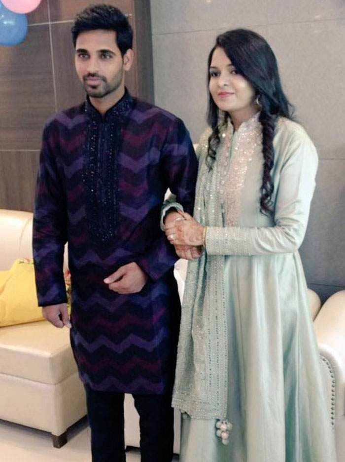Rediff Cricket - Indian cricket - India's bowling sensation Bhuvi is engaged! Congratulate him