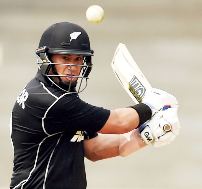 Rediff Cricket - Indian cricket - 2nd Warm-up: Taylor, Latham hit tons as NZ beat Board President's XI