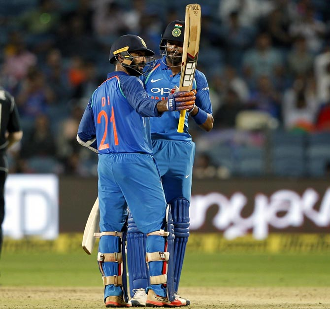 Rediff Sports - Cricket, Indian hockey, Tennis, Football, Chess, Golf - Numbers Game: India complete half-century of wins vs NZ