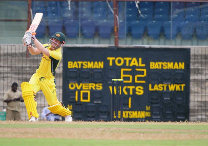 Rediff Cricket - Indian cricket - Warm-up: Australia warm up in style, thrash BP XI by 103 runs