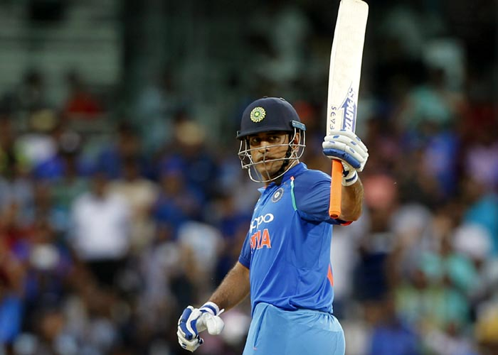Rediff Cricket - Indian cricket - Another century for milestone man Dhoni...