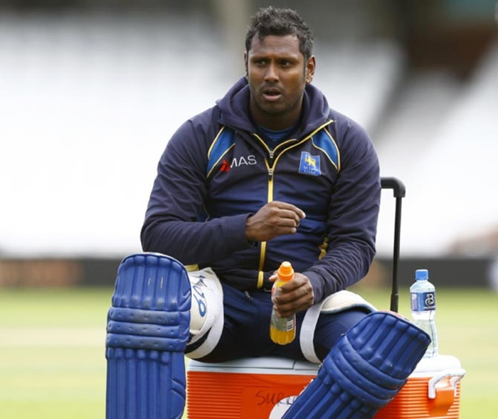Rediff Sports - Cricket, Indian hockey, Tennis, Football, Chess, Golf - Angelo Mathews out as Sri Lanka add three new faces for Pakistan Test