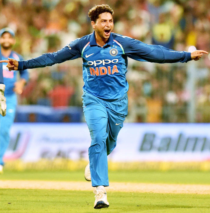 Rediff Cricket - Indian cricket - New Zealand 'looking forward to' Kuldeep, Chahal challenge