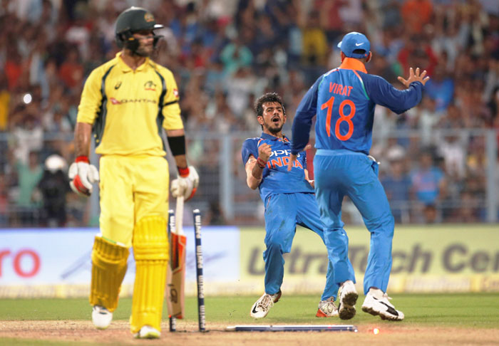 Rediff Sports - Cricket, Indian hockey, Tennis, Football, Chess, Golf - Kuldeep, Chahal could again play pivotal role in 3rd ODI at Indore