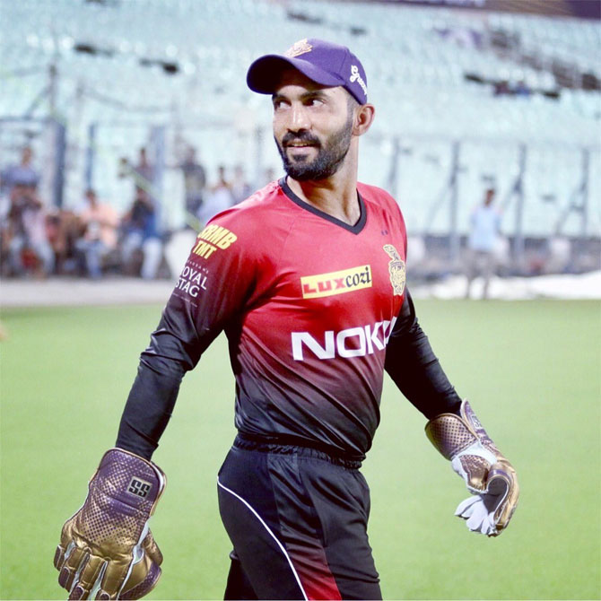 'From the captaincy point of view, Dinesh Karthik is in the perfect time of his career to really grab the opportunity,' feels KKR batting coach Simon Katich.