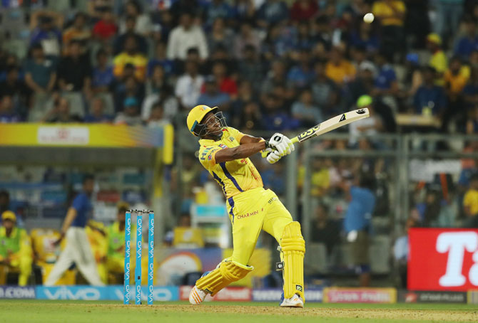 PIX: Bravo stars in CSK's thrilling one-wicket win over MI in opener