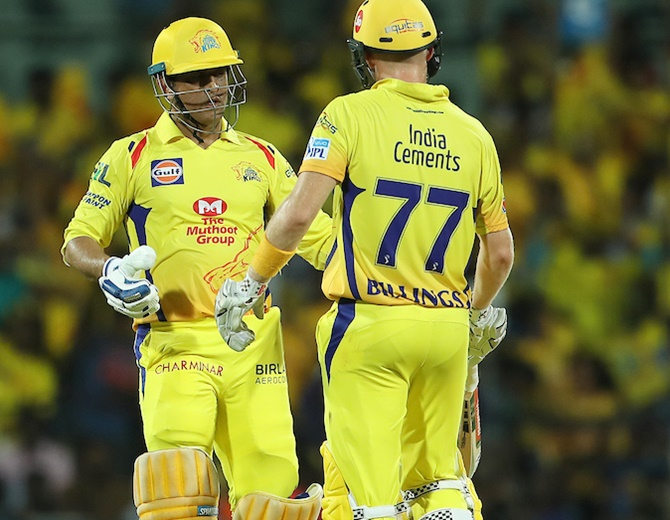 Rediff Cricket - Indian cricket - Dhoni's calmness rubbed off on me: Billings