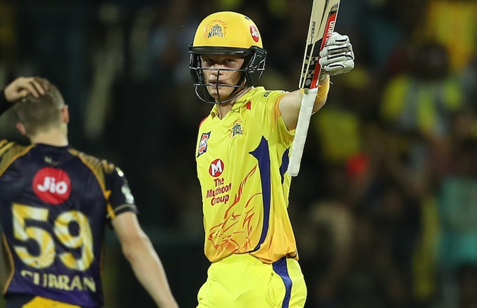 Rediff Cricket - Indian cricket - CSK v KKR tie: The Turning Point